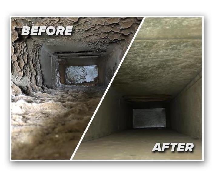 HVAC System duct cleaning